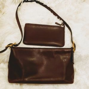 Vintage Coach Legacy Hobo w/ Matching Pouch